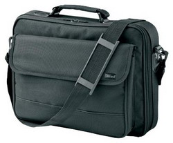 """Сумка для ноутбука Trust Notebook Carry Bag BG-3450p 15.4"""" Black"""