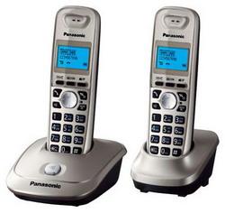 Радиотелефон Panasonic KX-TG2512 Platinum