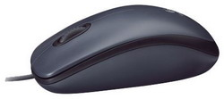 Мышь Logitech Mouse M90 Black USB 910-001794