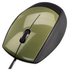 Optical Mouse Black-Khaki USB H-52387