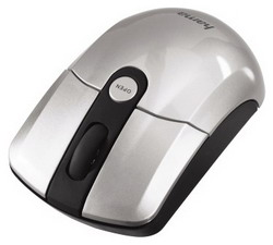 Мышь HAMA M642 Wireless Optical Mouse Silver-Black USB