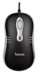 Мышь HAMA M450 Optical Mouse Black USB