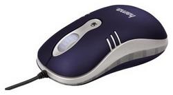 Мышь HAMA M452 Optical Mouse Blue USB