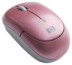Мышь HP KJ453AA Pink USB