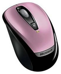Мышь Microsoft Wireless Mobile Mouse 3000 Pink USB