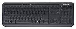 Клавиатура Microsoft Wired Keyboard 600 Black USB ANB-00018