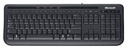 Wired Keyboard 600 Black USB ANB-00018