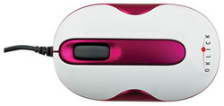 505S Optical Mouse Red USB 505S pink/white
