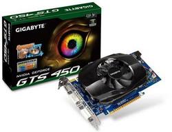 GeForce GTS 450 810 Mhz PCI-E 2.0 1024 Mb 3608 Mhz 128 bit 2xDVI Mini-HDMI HDCP GV-N450-1GI