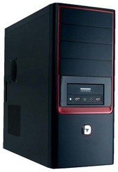 7022D 450W Black/red HKC-7022DR-450W