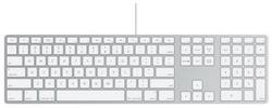 Клавиатура Apple Wired Keyboard White USB