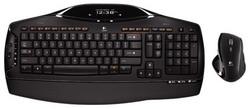 Комплект клавиатура + мышь Logitech Cordless Desktop MX 5500 Revolution Black USB