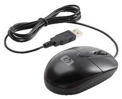 Мышь HP RH304AA Black USB