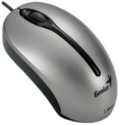 Мышь Genius Traveler 305 Laser Silver USB