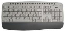 Клавиатура Dialog KM-201SP Silver PS/2