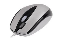 Мышь A4 Tech OP-3D Silver PS/2