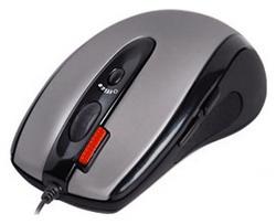 Мышь A4 Tech X6-70D Silver-Black USB+PS/2