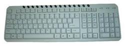 KB-8300M-R White PS/2 KB-8300M-R