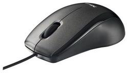 Carve Optical Mouse Black USB 15862