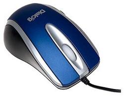 MOP-14SU Black-Blue USB MOP-14SU