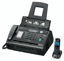Факс Panasonic KX-FLC418RU Black