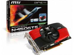 GeForce GTS 450 783 Mhz PCI-E 2.0 1024 Mb 3608 Mhz 128 bit 2xDVI Mini-HDMI HDCP N450GTS-M2D1GD5