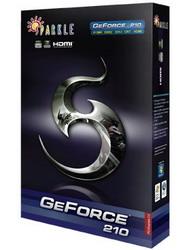 GeForce 210 589 Mhz PCI-E 2.0 512 Mb 1000 Mhz 64 bit DVI HDMI HDCP SXG210512S3L-NM