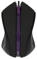 Мышь A4 Tech Q3-310-5 Black-Violet USB