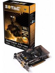 GeForce GTS 450 810Mhz PCI-E 2.0 512Mb 3608Mhz 128 bit 2xDVI HDMI HDCP ZT-40504-10L