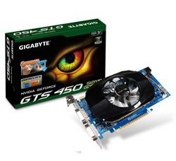 GeForce GTS 450 810Mhz PCI-E 2.0 512Mb 3608Mhz 128 bit 2xDVI Mini-HDMI HDCP GV-N450-512I
