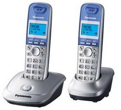Радиотелефон Panasonic KX-TG2512 Silver