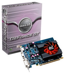 GeForce GT 440 810Mhz PCI-E 2.0 1024Mb 3200Mhz 128 bit DVI HDMI HDCP N440-1DDV-D5CX