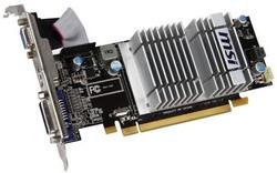 Radeon HD 5450 650Mhz PCI-E 2.1 1024Mb 1066Mhz 64 bit DVI HDMI HDCP R5450-MD1GD3H/LP