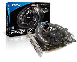 GeForce GTX 550 Ti 950Mhz PCI-E 2.0 1024Mb 4300Mhz 192 bit 2xDVI Mini-HDMI HDCP Cyclone N550GTX-Ti Cyclone II 1GD5/OC