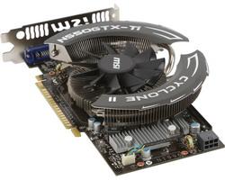GeForce GTX 550 Ti 900Mhz PCI-E 2.0 1024Mb 4100Mhz 192 bit 2xDVI Mini-HDMI HDCP Cyclone N550GTX-Ti Cyclone II 1GD5