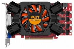 GeForce GTX 550 Ti Sonic 1000Mhz PCI-E 2.0 1024Mb 4400Mhz 192 bit DVI HDMI HDCP NE5X55TSHD09-1160F