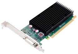 Quadro NVS 300 520Mhz PCI-E 2.0 512Mb 1580Mhz 64 bit VCNVS300X16DVI-PB