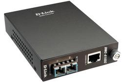 DMC-810SC, Media Converter Module, 1000Base-T Gigabit Twisted-pair to 1000Base-LX Gigabit Fiber Single-mode Fiber, (10km, SC) DMC-810SC/E