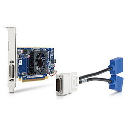 HP AMD Radeon HD 6350 512MB PCIe x16 Dual Head(DMS59 with Y-Cable),S-video(3120Pro, 3130 Pro, 4000 Pro, 6000Pro, 7100 Elite, 8000Elite CMT&SFF, 8100Elite) QK638AA