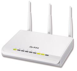 Интернет-центр для выделенной линии Ethernet с точкой доступа Wi-Fi 802.11n 300 Мбит/с и коммутатором Gigabit Ethernet NBG460N EE
