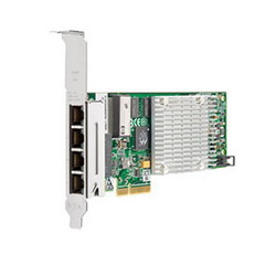 HP NC365T PCIe2.0 (x4) 4-Port Gigabit Server Adapter (incl. low-profile bracket) repl 538696-B21 593722-B21