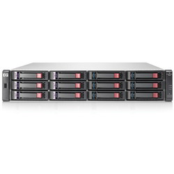 HP P2000 iSCSI DC SFF Modular Smart Array System (incl. 1XP2000 SFF Drive Chassis (AP839A), 2xP2000 G3 iSCSI Controller (BK829A)) replace AJ802A BK831A