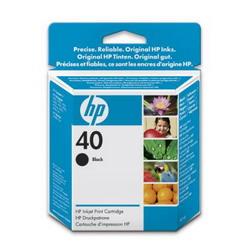 HP картридж 40 DJ 1200C/PS,DJ430, CopyJet/CopyJet M , black (42ml) 51640AE