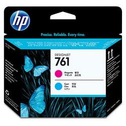 Печатающая головка HP 761 Designjet (пурпурный/голубой) CH646A