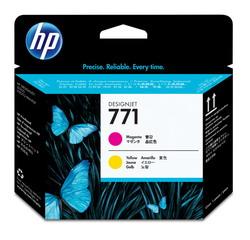 Печатающая головка HP 771 Designjet (пурпурный/желтый) CE018A