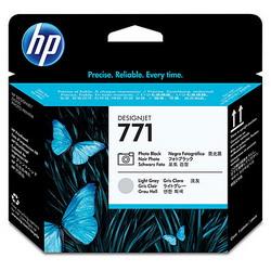 Печатающая головка HP 771 Photo Designjet (черный/светло-серый) CE020A