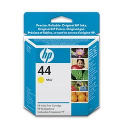 HP Картридж N44 DsgJ C350C/450C/455CA/488CA/750C/Plus/755CM , yellow (42 ml)(51644YE) 51644YE