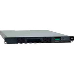 System Storage TS2900 LTO-5 SAS Tape Autoloader (1U, 9 slots, barcode reader, no SAS cable, power cable) 3572S5R