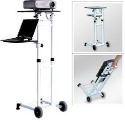 Grand, передвижной универсальный столик, 2 полки, нагрузка верхней полки 10 кг, нижней 5 кг. TMMP-02