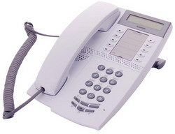 Системный телефон Aastra Dialog 4222 Office, Telephone Set, Light Grey (Системный цифровой телефон, светло-серый) DBC 222 01/01001
